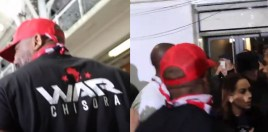 Chisora Has Altercation With Whyte's Brother Backstage At Weigh-In