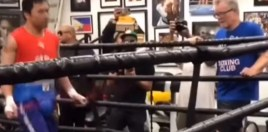 Footage Emerges Of Pacquiao and Freddie Roach Back Together In The Wild Card Gym