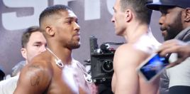 Klitschko Has Texted Anthony Joshua And It's Intriguing