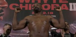 Rejuvenated Chisora Shows Off Lean New Physique Ahead Of Whyte Rematch