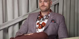 Tyson Fury Delivers His 2018 Christmas Message