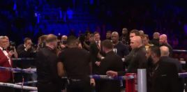 What Anthony Joshua Said To Dillian Whyte After He Knocked Out Chisora