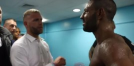 What Billy Joe Saunders Told Kell Brook Straight After Latest Fight