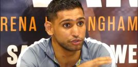 Amir Khan Gives His Pick In Pacquiao vs Broner Fight