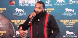 Broner Gives Prediction For Pacquiao Fight and Reacts To Mayweather vs Tenshin