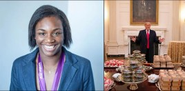 Claressa Shields Rips Donald Trump For McDonald's Burgers In The White House