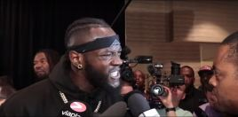 Deontay Wilder Can't Take Anthony Joshua Offers Seriously Anymore