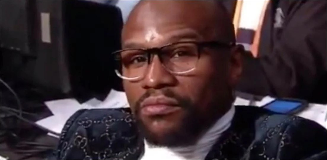 Floyd Mayweather's Reaction To The Pacquiao vs Broner Fight Says It All