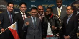 Pacquiao vs Broner Final Press Conference Live Stream