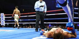 The Ruthless Left Hand That Shakur Stevenson Moved To 10-0 With
