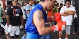 40 Year Old Pacquiao Posts Video That Shows He's Far From Done