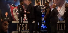 Boxing World React To Anthony Joshua and Jarrell Miller Altercation