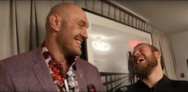 Tyson Fury's Trainer Hits Back At Anthony Joshua's Belittling Of His Fighter