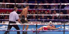 Boxer Serves Instant Karma To Opponent After Being Taunted All Fight