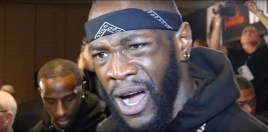 Deontay Wilder's Comments About Floyd Mayweather