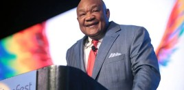 George Foreman Gives His Take On Anthony Joshua As A Fighter