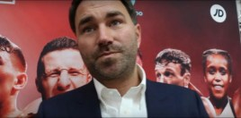 Hearn Reacts To Wilder 50-50 Split Demands For Joshua Showdown
