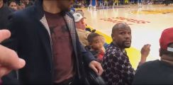 Mayweather Reacts To Pacquiao Rematch Callout