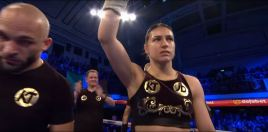 People Are Raving About Katie Taylor After Philadelphia TKO Win