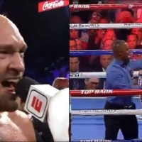 Tyson Fury Wows America with Entrance, Moves, KO and Singing
