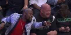Floyd Mayweather and Dana White