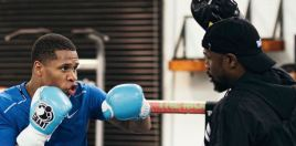 Mayweather Reveals What It Is He Likes About Devin Haney To Train Him