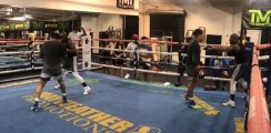 Floyd Mayweather Shows Gervonta Davis Secret Moves To Beat Leo Santa Cruz