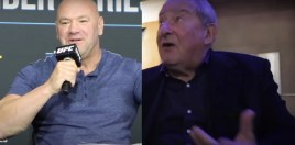 Dana White Loses It On Bob Arum After Crawford vs Brook