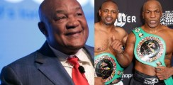 george foreman reacts to mike tyson vs roy jones jr fight