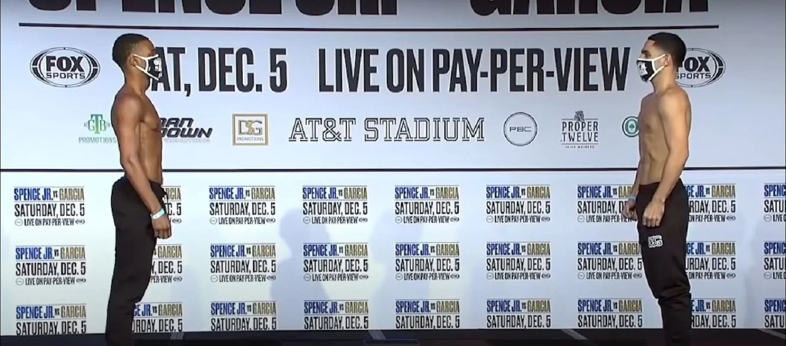 Watch: Errol Spence vs Garcia Weigh In and Final Face Off