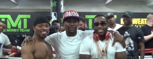 Adrien Broner Makes A Suggestion To Floyd Mayweather