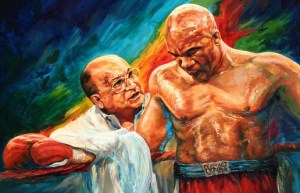 George Foreman Has A Quite Brilliant 6 Fighter Reaction To Art Piece
