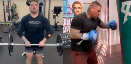 Video Shows Andy Ruiz Dramatic Weight Loss Ahead Of Arreola Fight