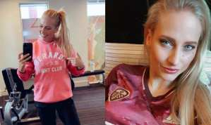 Blonde Boxing Stunner Ready To Roll On Big Week For Women's Boxing