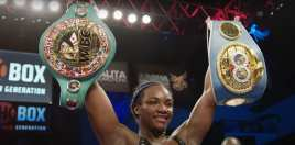Claressa Shields reacts to old rival winning the World Title