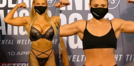 World Champion Fires Back In Women's Boxing Lingerie Feud