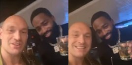 Watch: Adrien Broner and Tyson Fury Meet For The First Time