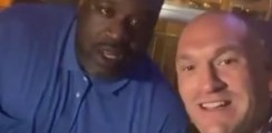 Heavyweight Champion Runs Into A Living Legend