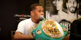 What Devin Haney Told Ryan Garcia and Teofimo Lopez After Linares Win
