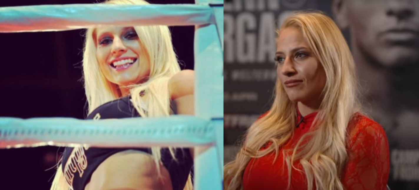 Blonde Bombshell Grabs Attention With Ring Card Girl Photos