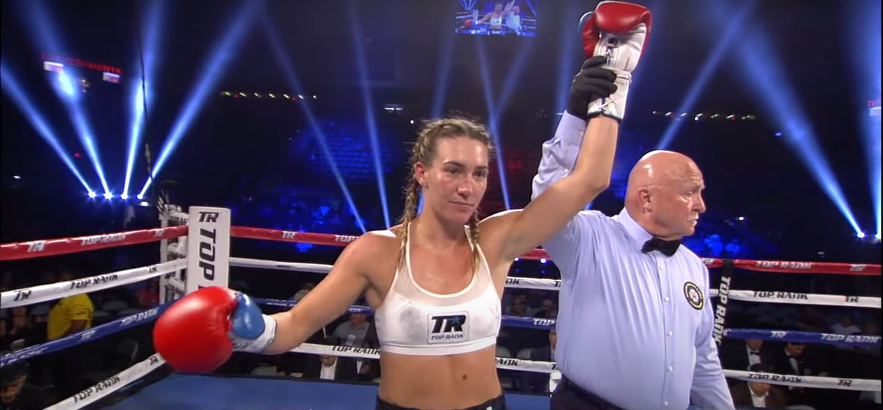 Blonde Bombshell Reacts To American Female World Champion Win