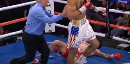 Brutal 1st Round Knockout Sees New Cuban World Champion Crowned