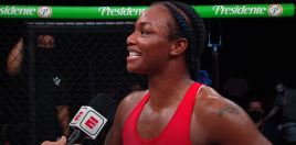 Claressa Shields MMA Debut Post Fight Reaction Wins The Internet