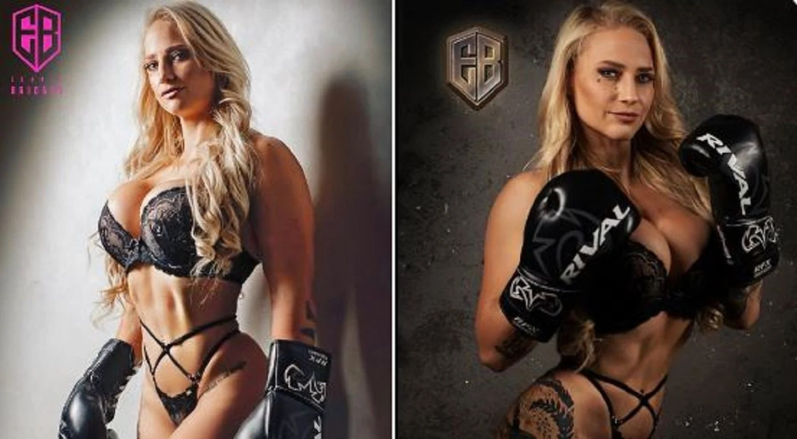 Blonde Bombshell Grabs Attention With Autographed New Photos