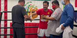 Pacquiao Goes Back To Brutal Old School Training Method For Spence