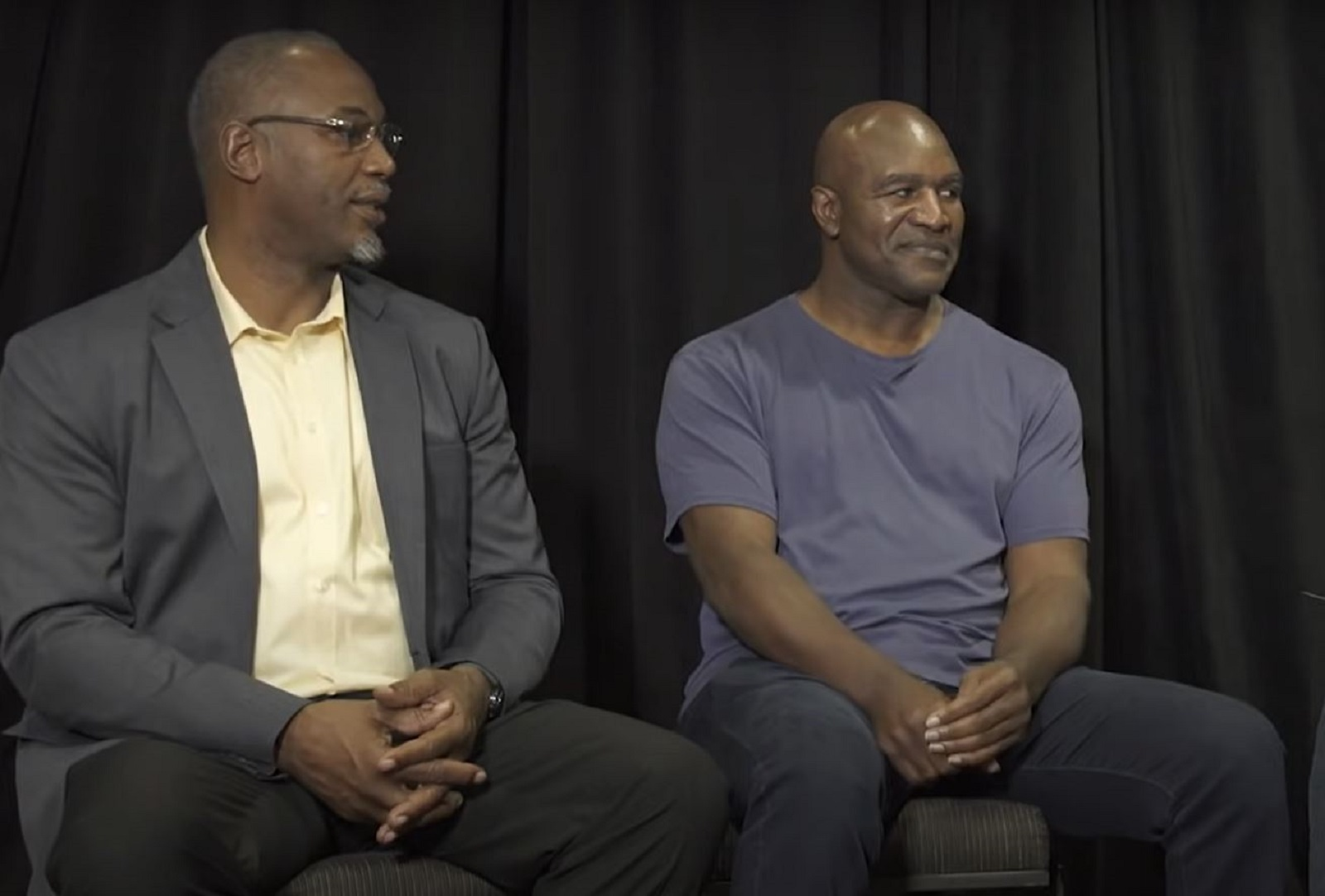 Lennox Lewis Makes Good Point About Evander Holyfield Fiasco