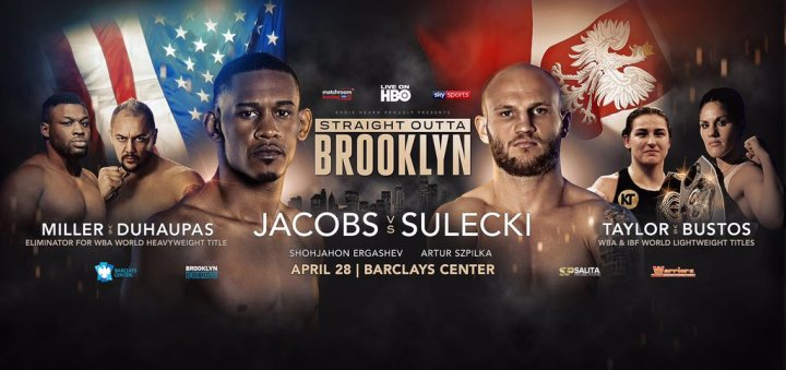 Jacobs  vs Sulecki – April 28 – Brooklyn, NY @ Brooklyn, NY | New York | United States