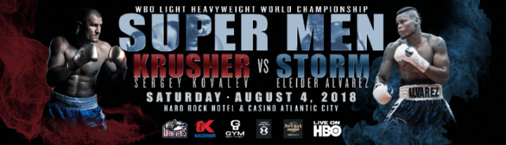 Kovalev vs Alvarez - August 4 - Atlantic City @ Atlantic City | Atlantic City | New Jersey | United States