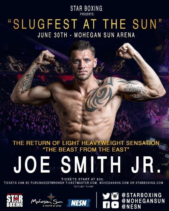 Joe Smith Jr. vs Russell - June 30 - Uncasville, CT @ Uncasville, CT | Montville | Connecticut | United States