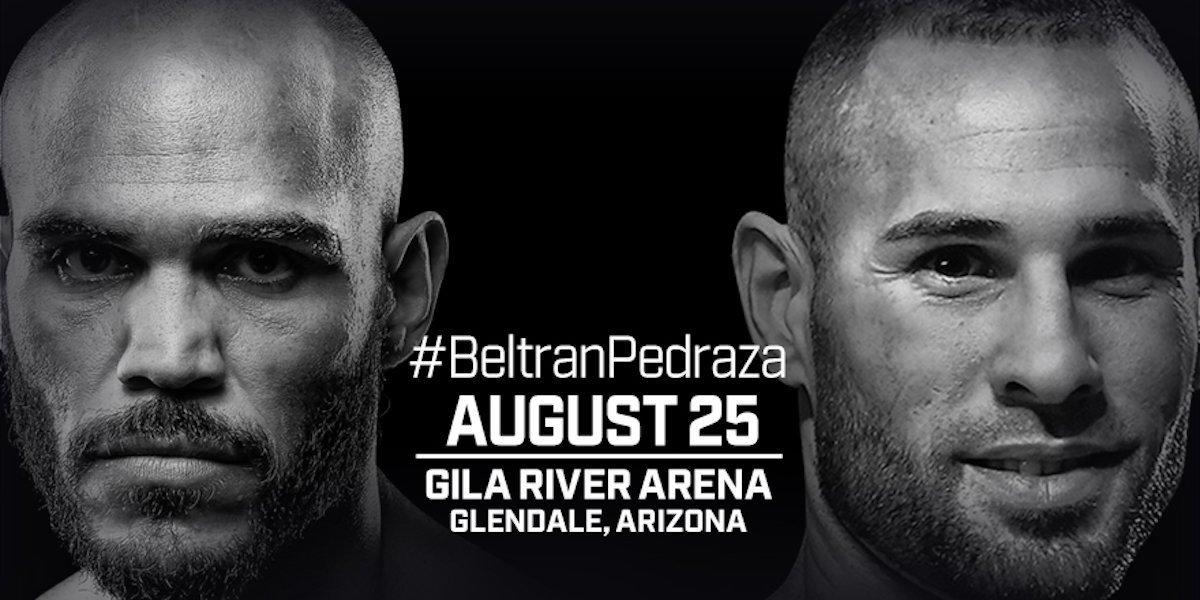 Beltran vs Pedraza – August 25 – Glendale, Arizona